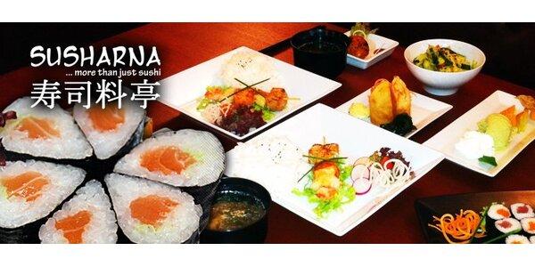 449 Kč za sedmichodové japonské menu pro dva v restauraci Susharna!