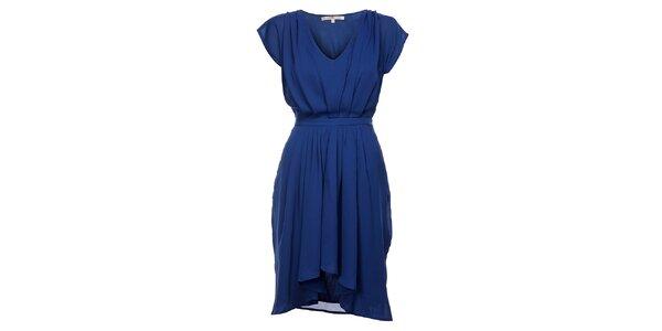 Dámské zářivě modré šaty Uttam Boutique