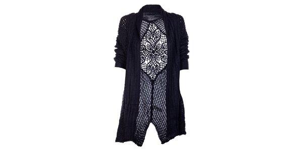 Dámský tmavě modrý kardigan Uttam Boutique