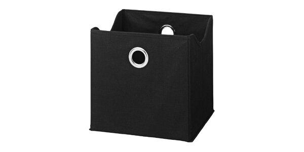 Boxy v černé barvě (9 kusů)