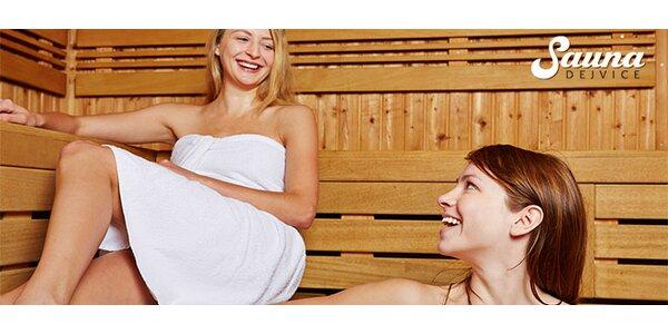 Hodina v privátní solné sauně pro 1-4 osoby