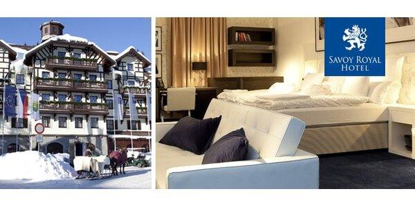6900 Kč za luxusní pobyt na 2 noci pro dva v Savoy Royal Hotel. Sleva 56 %.