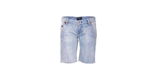 Dámské světle modré džínové kraťasy značky Rare