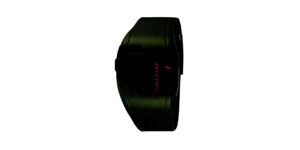 Pánské olivové digitální hodinky Puma