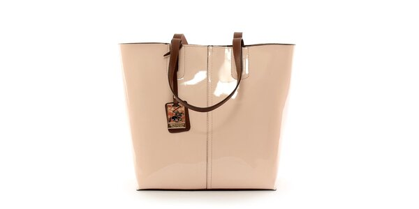 Dámská pudrová kabelka s vyjímatelnou kapsou Beverly Hills Polo Club