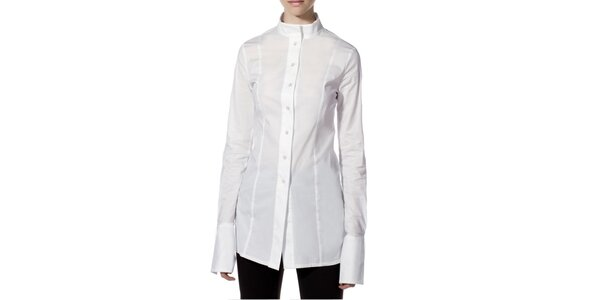 Dámská bílá košile s dlouhým rukávem Gene