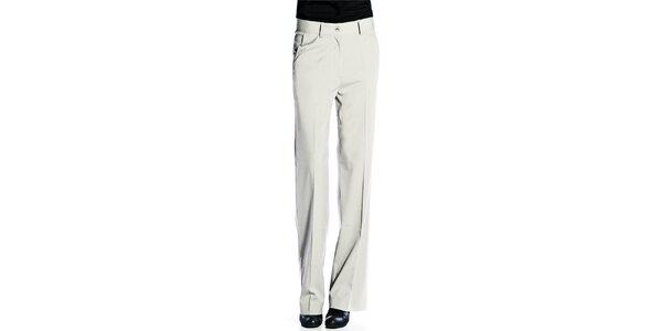 Dámské světle šedé kalhoty Gene