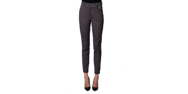 Dámské šedé kalhoty z panenské vlny Gene