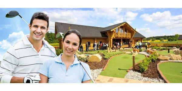 18jamkový adventure golf pro dospělé i děti
