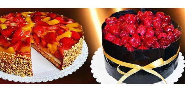 Božské ovocné dorty s lahodným krémem