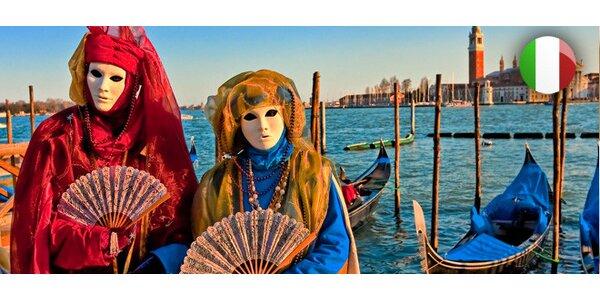 Výlet za proslulým benátským karnevalem pro 1 osobu
