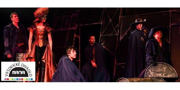 Ubohý Cyrano - voucher na 2 vstupenky