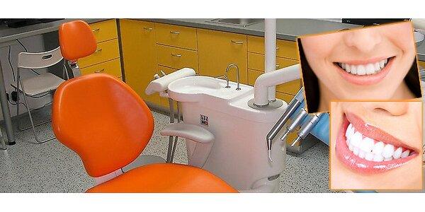Velikonoční dentální hygiena včetně pískování Air-Flow