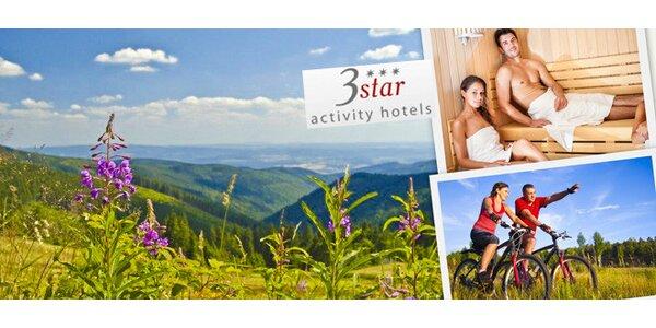 Krušnohorská idylka s wellness a turistikou pro dva
