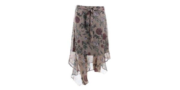 Dámská asymetrická sukně s potiskem Next