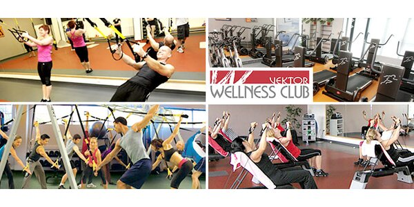 17 druhů cvičení ve Vektor wellness clubu