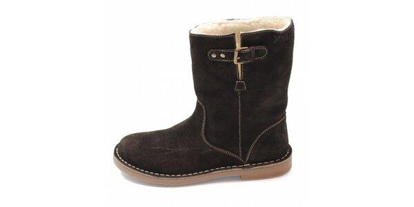 Dámské hnědé zimní boty Xti