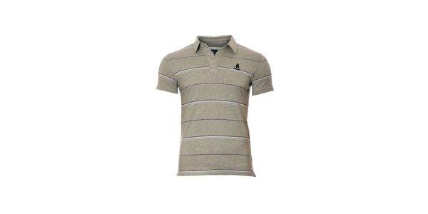 Pánské šedé polo tričko značky Bendorff