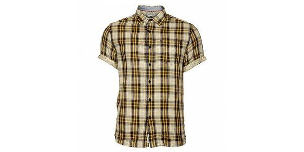 Pánská kostkovaná košile Timeout s krátkým rukávem