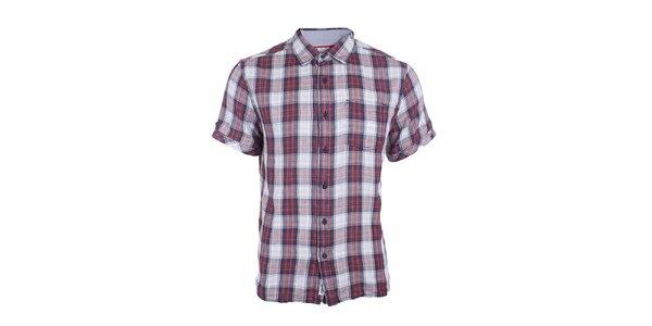 Pánská kostkovaná košile s krátkým rukávem Timeout