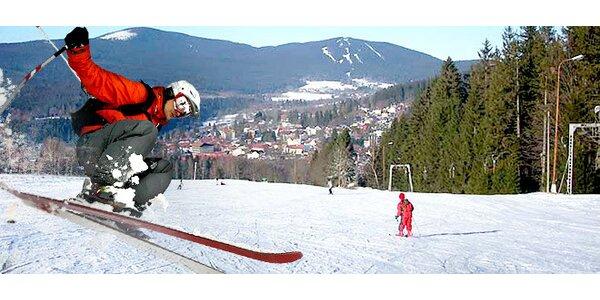 Víkendová lyžovačka na Šumavě pro dva