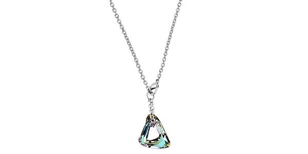 Dámský náhrdelník s duhovým krystalem Art de France