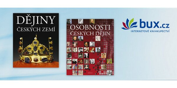 Sada 2 obrazových encyklopedií z historie naší země