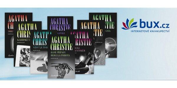 Sada 8 skvělých detektivek Agathy Christie