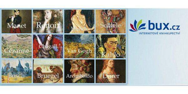 12 výpravných encyklopedií z edice Světové umění