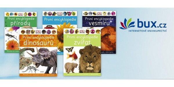 Sada 5 encyklopedií Universum pro malé čtenáře