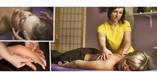Čínská tlaková masáž - 60 minut