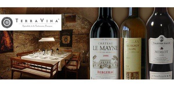 244 Kč za balíček tří kvalitních francouzských vín. Sleva 47 %!