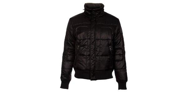 Pánská černá zimní bunda Timeout
