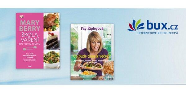 Dvě kuchařské knihy s recepty pro celou rodinu