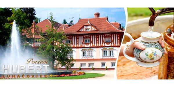 Krásný apartmán v Luhačovicích pro 4 osoby