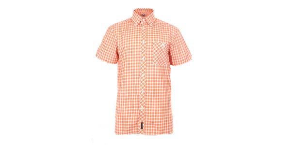 Pánská oranžově károvaná košile The Spirit of 69
