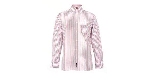 Pánská růžově pruhovaná košile The Spirit of 69