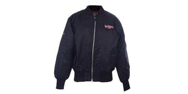 Pánská černá bunda na zip Hardcore United