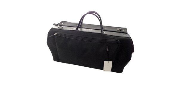 Pánská černá taška na zip Emporio Armani