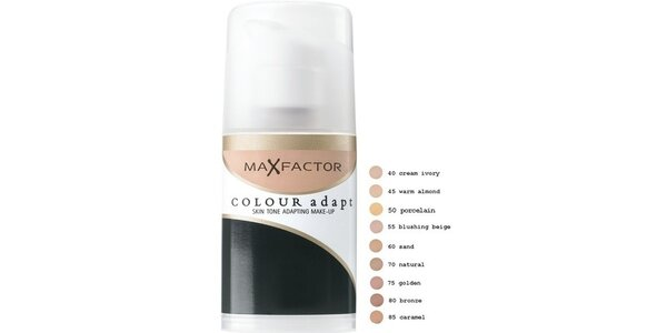 MF Color Adapt Lasting Makeup 45 Warm almond