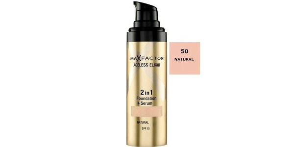 MF Ageless Elixir 2in1 50 Natural, make-up