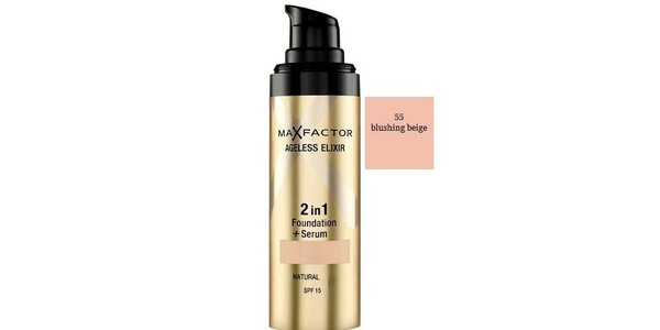 MF Ageless Elixir 2in1 55 Beige, make-up