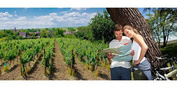 Relaxace a ochutnávání vína na jižní Moravě pro dva