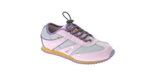Dětské růžovo-fialové tenisky Beppi