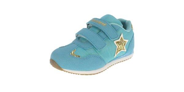 Dětské modré boty s hvězdičkou Beppi