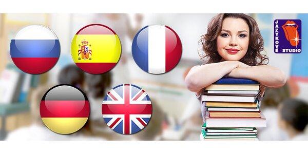 Kvalitní jazykové kurzy dle výběru
