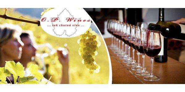 Degustace - snoubení vína a jídla