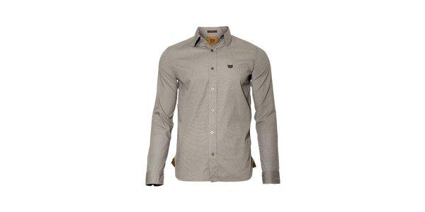 Pánská šedá košile se vzorem značky Bendorff