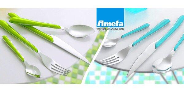 Luxusní sady příborů Amefa v různých barvách