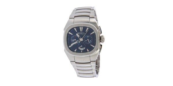 Pánské stříbrné analogové hodinky Breil 513c9bf7db